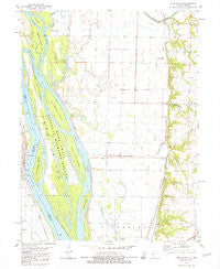 Long Island Illinois Historical topographic map, 1:24000 scale, 7.5 X 7.5 Minute, Year 1981