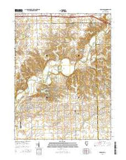 Mackinaw Illinois Current topographic map, 1:24000 scale, 7.5 X 7.5 Minute, Year 2015 from Illinois Maps Store