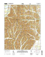 Mill Creek Illinois Current topographic map, 1:24000 scale, 7.5 X 7.5 Minute, Year 2015 from Illinois Maps Store