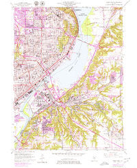 Peoria East Illinois Historical topographic map, 1:24000 scale, 7.5 X 7.5 Minute, Year 1949