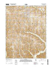 Pittsfield Illinois Current topographic map, 1:24000 scale, 7.5 X 7.5 Minute, Year 2015 from Illinois Maps Store