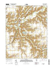 Plainview Illinois Current topographic map, 1:24000 scale, 7.5 X 7.5 Minute, Year 2015 from Illinois Maps Store