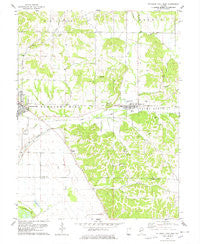 Pleasant Hill East Illinois Historical topographic map, 1:24000 scale, 7.5 X 7.5 Minute, Year 1978