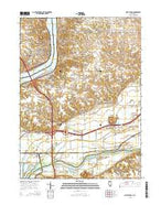 Port Byron Illinois Current topographic map, 1:24000 scale, 7.5 X 7.5 Minute, Year 2015 from Illinois Map Store