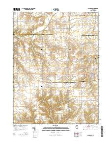 Buy Topo Map Princeville Il 2015 Yellowmaps Map Store