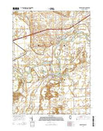 Prophetstown Illinois Current topographic map, 1:24000 scale, 7.5 X 7.5 Minute, Year 2015 from Illinois Map Store