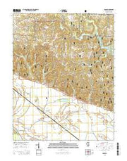 Raddle Illinois Current topographic map, 1:24000 scale, 7.5 X 7.5 Minute, Year 2015 from Illinois Maps Store