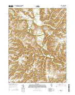 Ripley Illinois Current topographic map, 1:24000 scale, 7.5 X 7.5 Minute, Year 2015 from Illinois Map Store