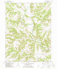 Ripley Illinois Historical topographic map, 1:24000 scale, 7.5 X 7.5 Minute, Year 1981