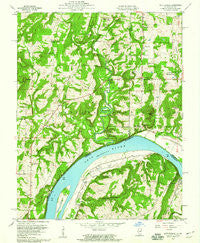 Shetlerville Illinois Historical topographic map, 1:24000 scale, 7.5 X 7.5 Minute, Year 1959
