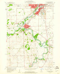South Beloit Illinois Historical topographic map, 1:24000 scale, 7.5 X 7.5 Minute, Year 1959