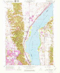 Spring Bay Illinois Historical topographic map, 1:24000 scale, 7.5 X 7.5 Minute, Year 1949