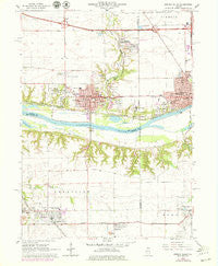 Spring Valley Illinois Historical topographic map, 1:24000 scale, 7.5 X 7.5 Minute, Year 1966