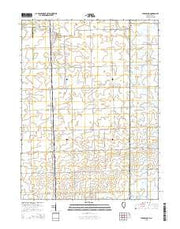 Stockland Illinois Current topographic map, 1:24000 scale, 7.5 X 7.5 Minute, Year 2015 from Illinois Maps Store