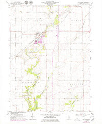 Troy Grove Illinois Historical topographic map, 1:24000 scale, 7.5 X 7.5 Minute, Year 1966