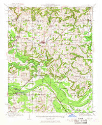 Vienna Illinois Historical topographic map, 1:62500 scale, 15 X 15 Minute, Year 1942