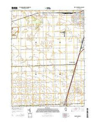 West Kankakee Illinois Current topographic map, 1:24000 scale, 7.5 X 7.5 Minute, Year 2015