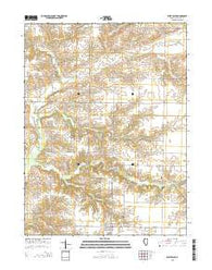 West Point Illinois Current topographic map, 1:24000 scale, 7.5 X 7.5 Minute, Year 2015
