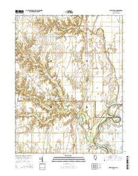West Union Illinois Current topographic map, 1:24000 scale, 7.5 X 7.5 Minute, Year 2015