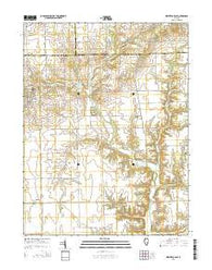 Westfield East Illinois Current topographic map, 1:24000 scale, 7.5 X 7.5 Minute, Year 2015