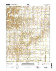 Westfield West Illinois Current topographic map, 1:24000 scale, 7.5 X 7.5 Minute, Year 2015 from Illinois Maps Store