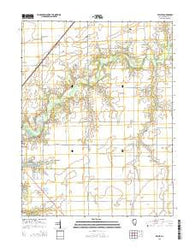 Willeys Illinois Current topographic map, 1:24000 scale, 7.5 X 7.5 Minute, Year 2015