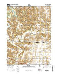 Williamsfield Illinois Current topographic map, 1:24000 scale, 7.5 X 7.5 Minute, Year 2015