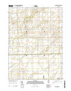 Wilton Center Illinois Current topographic map, 1:24000 scale, 7.5 X 7.5 Minute, Year 2015 from Illinois Map Store