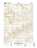 Windsor Illinois Current topographic map, 1:24000 scale, 7.5 X 7.5 Minute, Year 2015 from Illinois Map Store