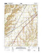 Worden Illinois Current topographic map, 1:24000 scale, 7.5 X 7.5 Minute, Year 2015 from Illinois Map Store