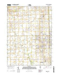 Yorkville SE Illinois Current topographic map, 1:24000 scale, 7.5 X 7.5 Minute, Year 2015