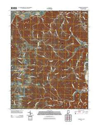 Aberdeen Indiana Historical topographic map, 1:24000 scale, 7.5 X 7.5 Minute, Year 2011