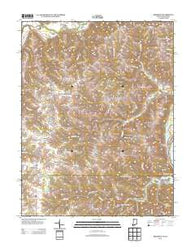 Aberdeen Indiana Historical topographic map, 1:24000 scale, 7.5 X 7.5 Minute, Year 2013