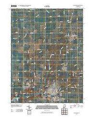 Alexandria Indiana Historical topographic map, 1:24000 scale, 7.5 X 7.5 Minute, Year 2010