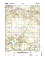 Andrews Indiana Current topographic map, 1:24000 scale, 7.5 X 7.5 Minute, Year 2016 from Indiana Map Store
