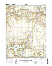 Andrews Indiana Current topographic map, 1:24000 scale, 7.5 X 7.5 Minute, Year 2016 from Indiana Maps Store
