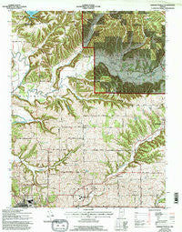 Bartlettsville Indiana Historical topographic map, 1:24000 scale, 7.5 X 7.5 Minute, Year 1978