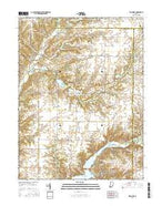 Bellmore Indiana Current topographic map, 1:24000 scale, 7.5 X 7.5 Minute, Year 2016 from Indiana Map Store