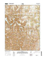 Cataract Indiana Current topographic map, 1:24000 scale, 7.5 X 7.5 Minute, Year 2016 from Indiana Map Store
