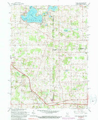 Clear Lake Indiana Historical topographic map, 1:24000 scale, 7.5 X 7.5 Minute, Year 1961