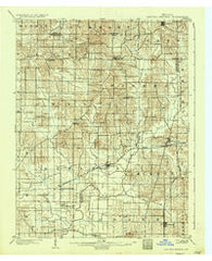 Degonia Springs Indiana Historical topographic map, 1:62500 scale, 15 X 15 Minute, Year 1902