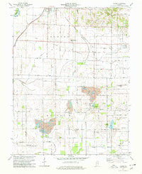 Epsom Indiana Historical topographic map, 1:24000 scale, 7.5 X 7.5 Minute, Year 1978
