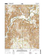 Gosport Indiana Current topographic map, 1:24000 scale, 7.5 X 7.5 Minute, Year 2016 from Indiana Map Store