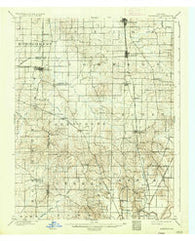 Haubstadt Indiana Historical topographic map, 1:62500 scale, 15 X 15 Minute, Year 1903