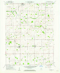 Hillisburg Indiana Historical topographic map, 1:24000 scale, 7.5 X 7.5 Minute, Year 1961