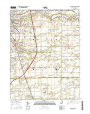 Kokomo East Indiana Current topographic map, 1:24000 scale, 7.5 X 7.5 Minute, Year 2016 from Indiana Maps Store