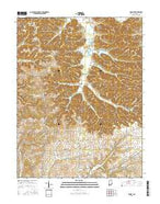 Kossuth Indiana Current topographic map, 1:24000 scale, 7.5 X 7.5 Minute, Year 2016 from Indiana Map Store
