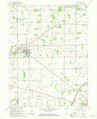 Lapel Indiana Historical topographic map, 1:24000 scale, 7.5 X 7.5 Minute, Year 1967