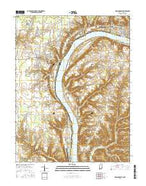 Madison West Indiana Current topographic map, 1:24000 scale, 7.5 X 7.5 Minute, Year 2016 from Indiana Map Store