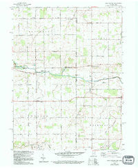 New Corydon Indiana Historical topographic map, 1:24000 scale, 7.5 X 7.5 Minute, Year 1960